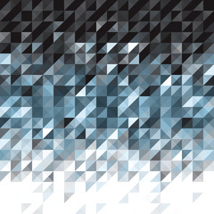 winter color mosaic background - vector illustration