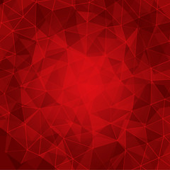 mosaic triangle background - vector illustration