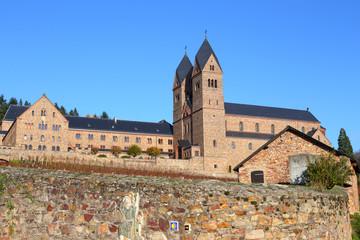 Abtei St. Hildegard bei Rüdesheim am Rhein (November 2014)