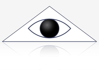 Eye in Triangle