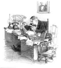 Businessman early 20 century