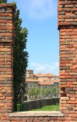 Brückenausblick auf Verona