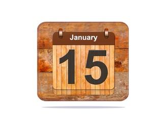 January 15.