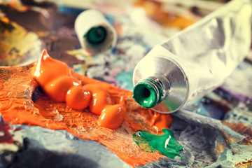 Aristic acrylics paints