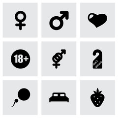 Vector sex icon set