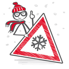 Achtung Schneefall