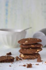 Chocolate y maní
