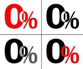 Null Prozent