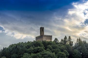 Castello di Poppi - veduta 2
