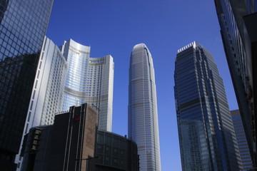 les immeubles de Hong Kong