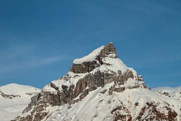 Mountain top Hahnen (2606 meters). Engelberg, Switzerland