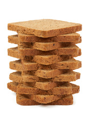 Heap of toast bread