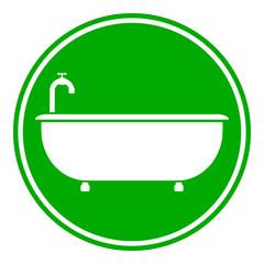 Bathtub button