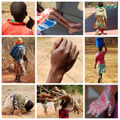 Let's give them a hand - Tanzania - Africa