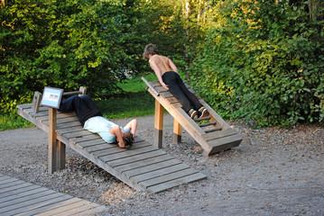 Outdoor-Fitnessgerät