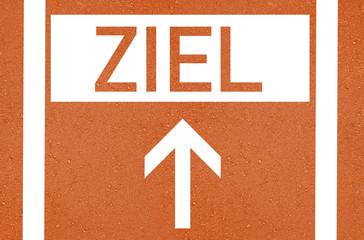 Tartanbahn mit ZIEL