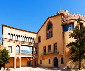 Balldovina Tower Museum in Santa CLoloma  de Gramenet