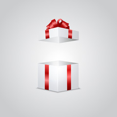 Gift box with light effect