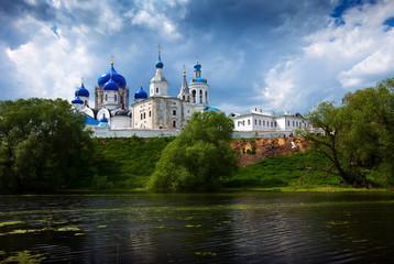 Summer view of nunnery. Bogolyubovo