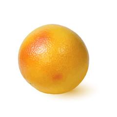 Ripe Golden appetizing grapefruit.