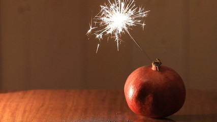 christmas bomb pomegranate