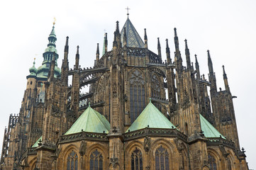 Saint Vitus Cathedral in Prague