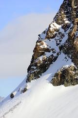 Parete nord del Piccolo Cervino - Klein Matterhorn
