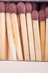 Matches closeup
