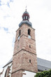 canvas print picture - Kirchturm