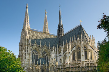 Votive Church (Votivkirche)  in Vienna, Austria