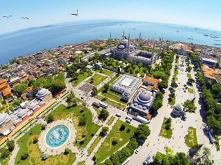 Sultanahmet Square and Blue Mosque