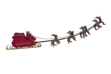 Santa Claus departure