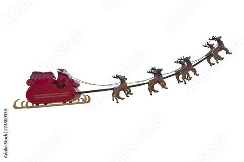 Santa Claus departure - 73800333