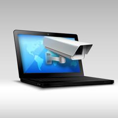 Laptop web security