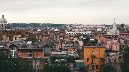 Panaromic View of Rome