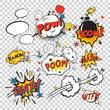 Comic boom set - 73801385