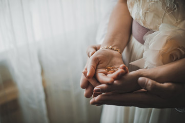 Exchange of wedding rings 1341.