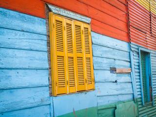 La Boca Window Frame