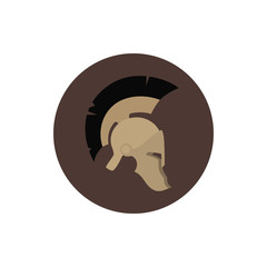 Icon helmet , vector illustration