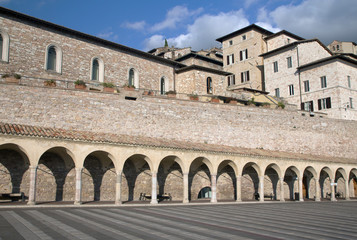 San Francesco Square in Assisi