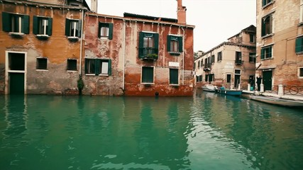 Venice Canal in Spring
