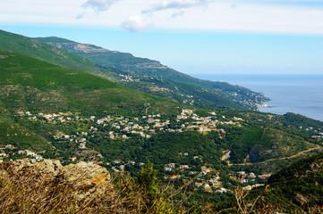 Les alentours de Bastia