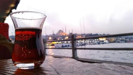 Çay at the bosphorus