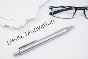 meine motivation