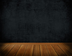 Dark grunge wall background.