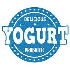 Yogurt stamp