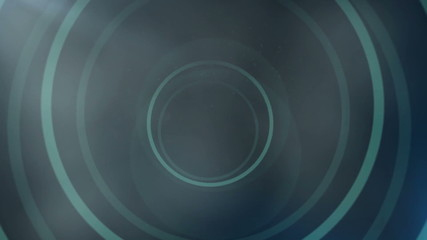 Motion target abstract background - blue