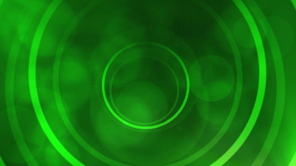 Motion target abstract background - green