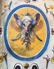 Old fresco from Palazzo Vecchio