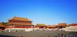 Постер, плакат: Temples of the Forbidden City in Beijing China